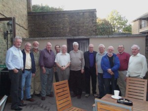 Group photo from 24th October reunion